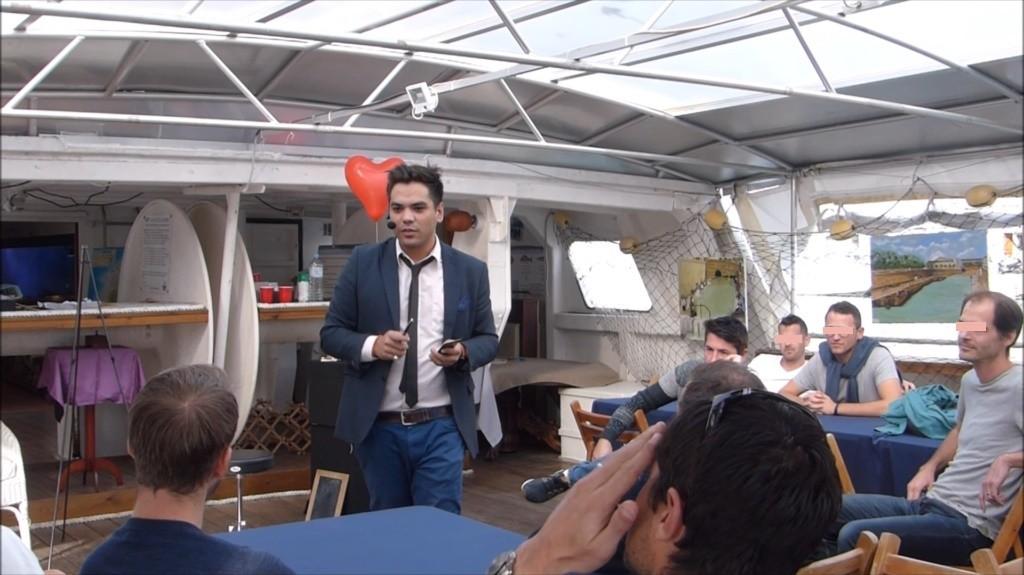 Magicien & Mentaliste Sacha Julian, Spectacle Mentalisme