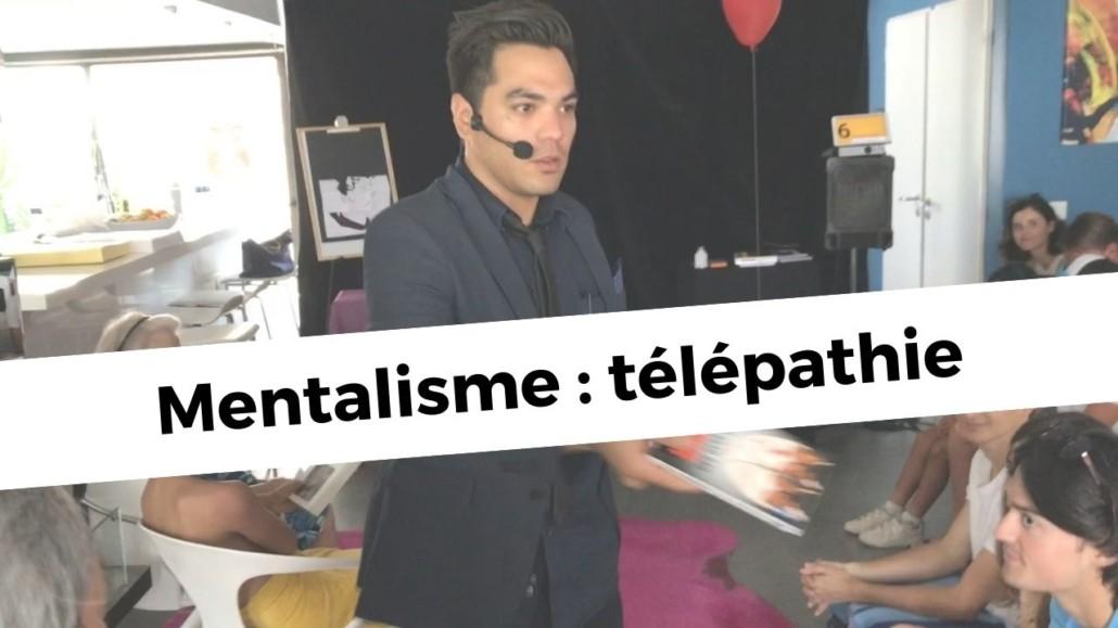Magicien Mentaliste Montpellier, Béziers, Sète, Julien Capdevielle
