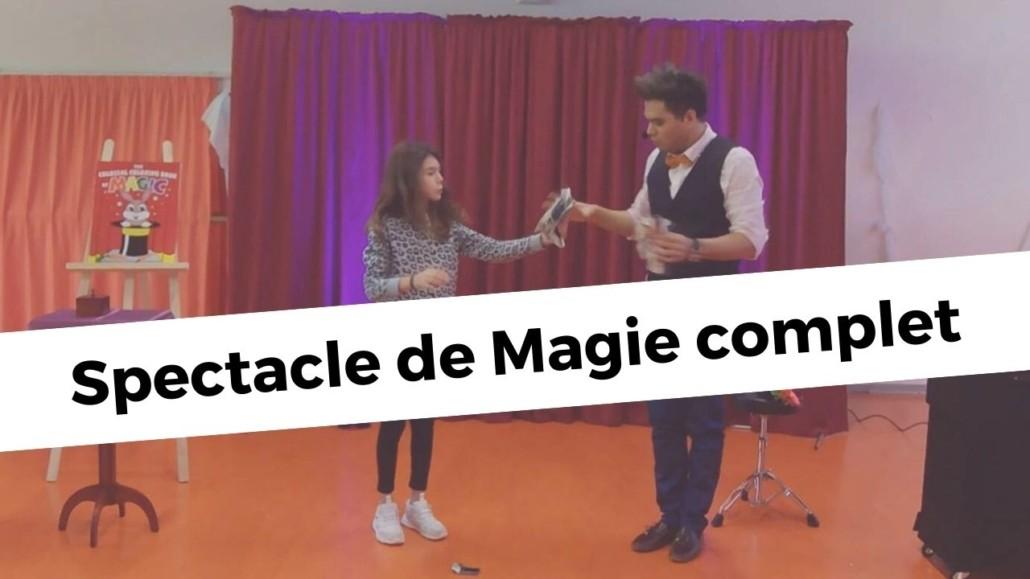 Spectacle de Magie, Julien Capdevielle